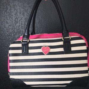 Betsey Johnson Striped Purse